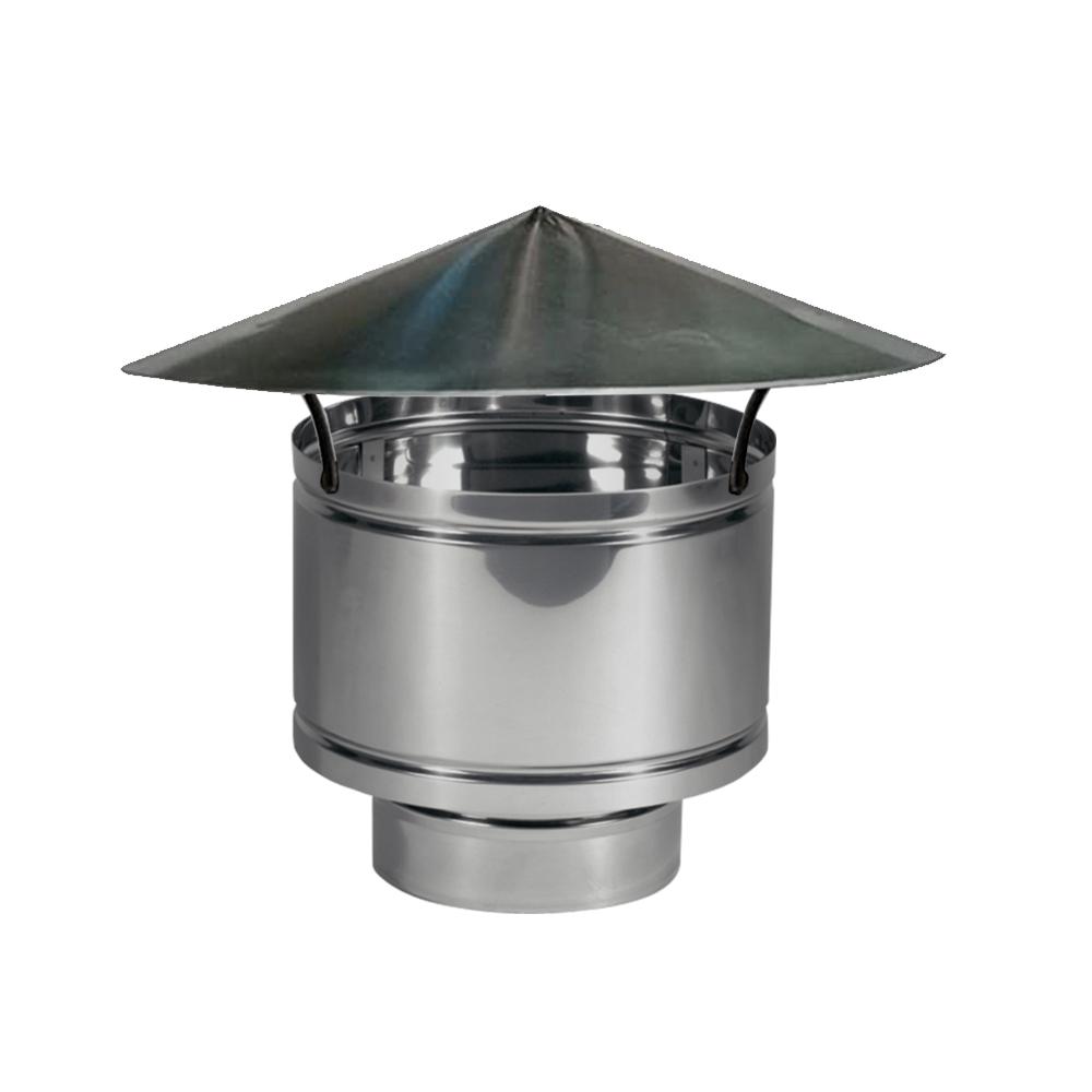 Fumaiolo Antipioggia Europrofil Anecove diametro 80/130