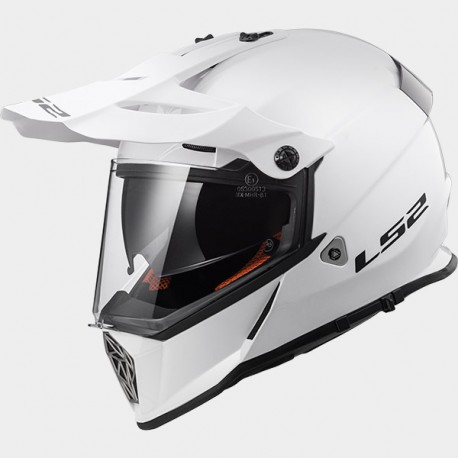 LS2 CASCO OFF ROAD PIONEER MX436 SOLID White – 404361002