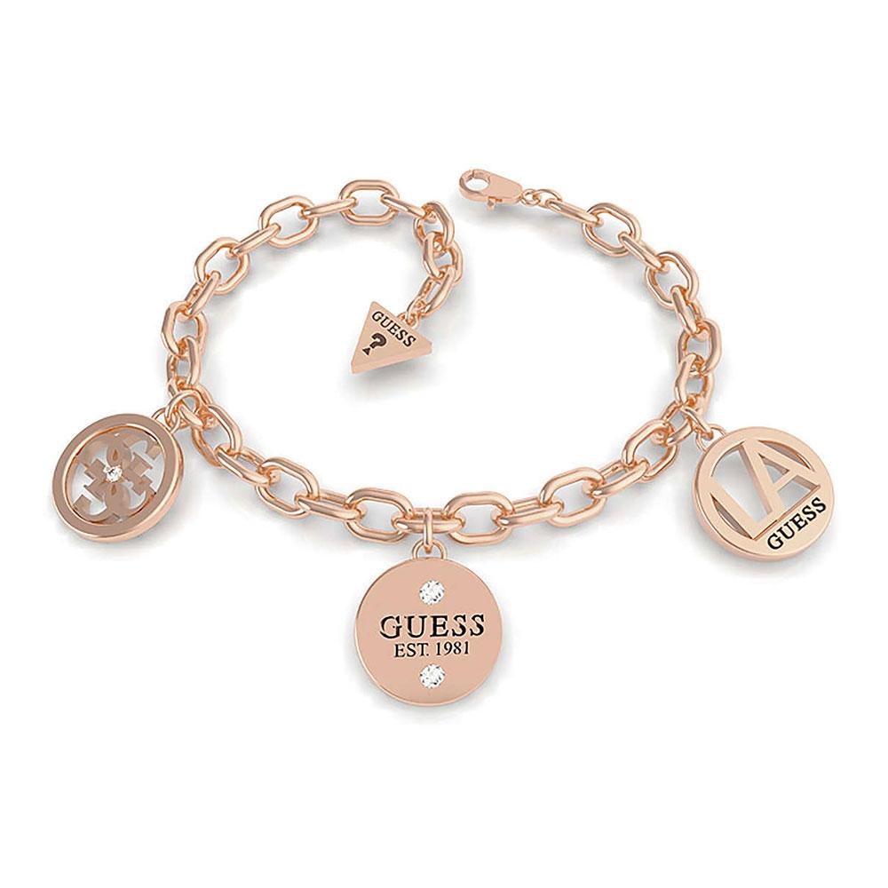 Bracciale Guess Trendy donna oro rosa – 14/18 cm