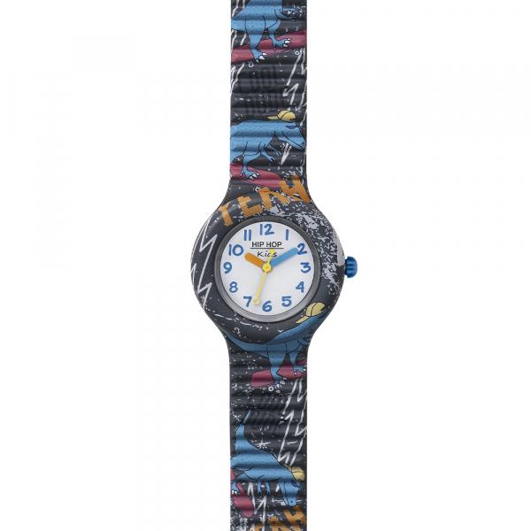 OROLOGIO SILICONE STAMPATO BAMBINO – GRIGIO – KIDS FUN – HWU0992 | Hip Hop Watches