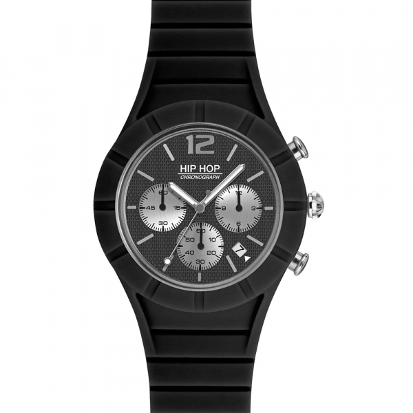 OROLOGIO SILICONE UOMO – NERO – X MAN – HWU0657   Hip Hop Watches