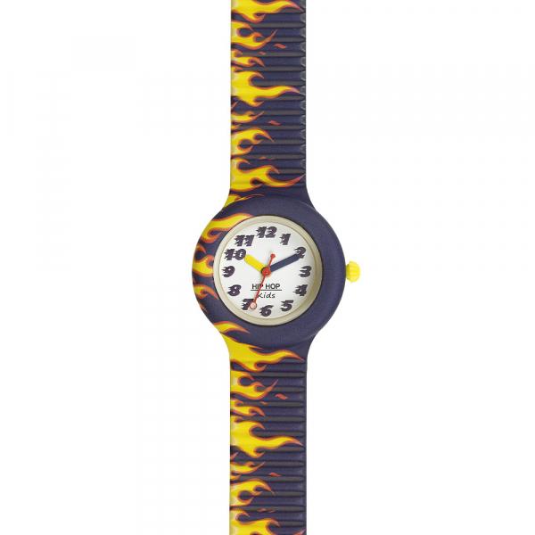 OROLOGIO SILICONE STAMPATO BAMBINO – BLU – KIDS FUN – HWU0901 | Hip Hop Watches