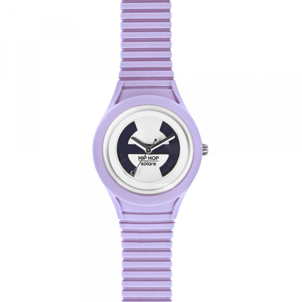 OROLOGIO SILICONE DONNA – ROSA – SOLARE – HWU0537 | Hip Hop Watches