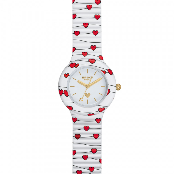 SWEET HEART – OROLOGIO SILICONE STAMPATO – HWU1028