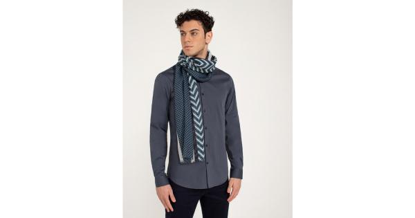 Geometric fancy scarf