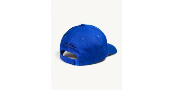 Cappello con ricamo posteriore