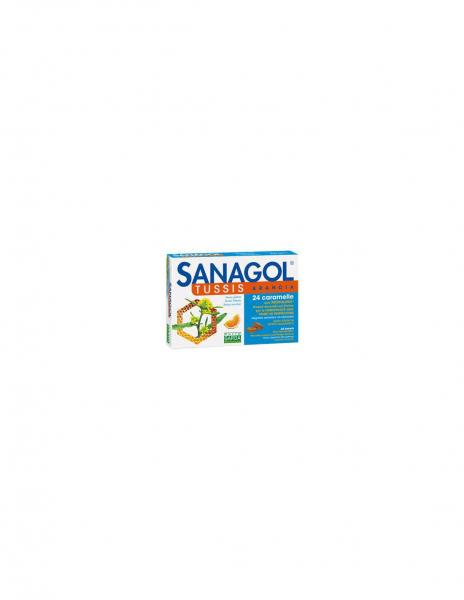 SANAGOL TUSS ARANCIA 24 caramelle
