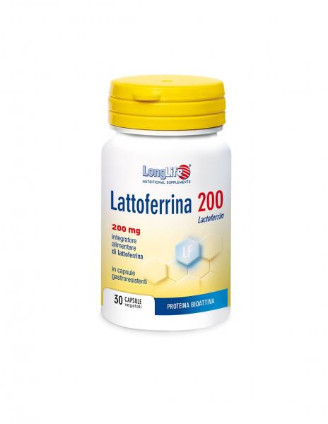 LONGLIFE LATTOFERRINA 200 30 capsule