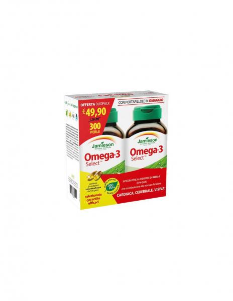 JAMIESON OMEGA-3 SELECT DUO PACK 300 capsule