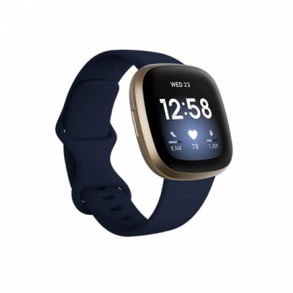 Smartwatch Fitbit Versa 3 Midnight – Soft Gold