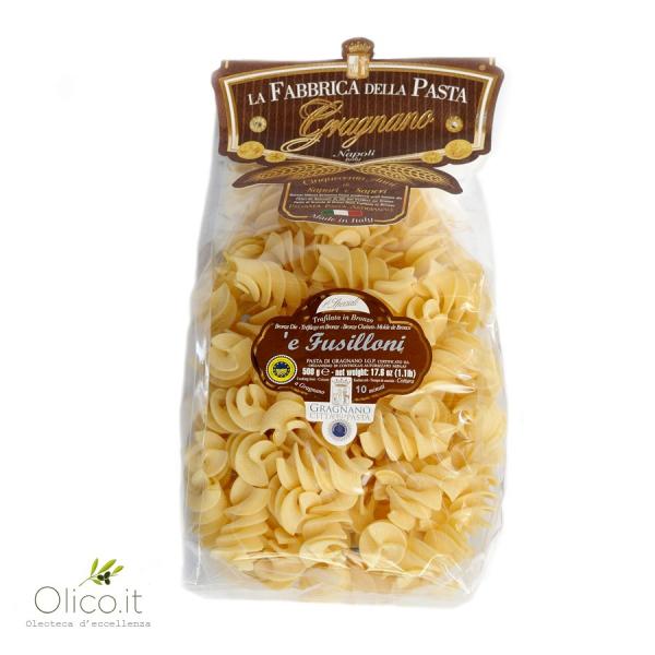 'e Fusilloni – Pasta di Gragnano IGP 500 gr