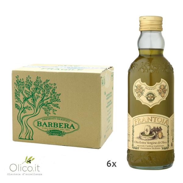 Olio Extra Vergine di Oliva Frantoia Barbera 500 ml x 6