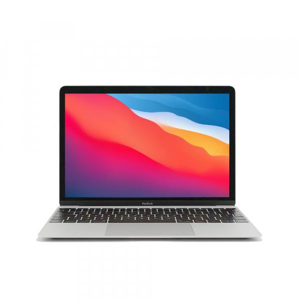 Apple MacBook 12.1″ Retina Argento intel® Dual-Core M3 1.2GHz 2017 (Ricondizionato)
