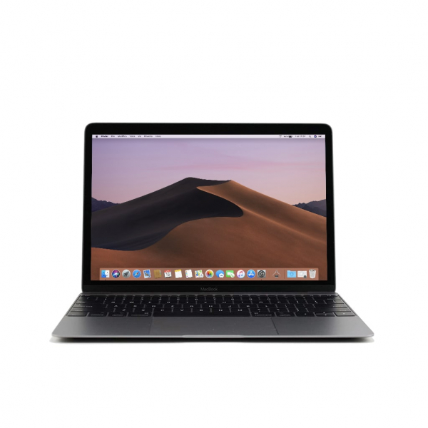 Apple MacBook 12.1″ Retina Grey intel® Dual-Core M3 1.1GHz Early 2016 (Ricondizionato)