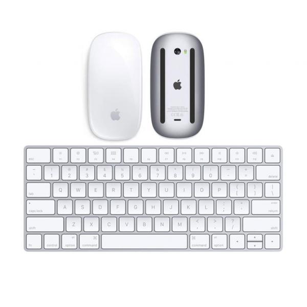 Apple Magic Mouse 2 + Magic Keyboard (2a Generazione) con batteria integrata (Ricondizionato)