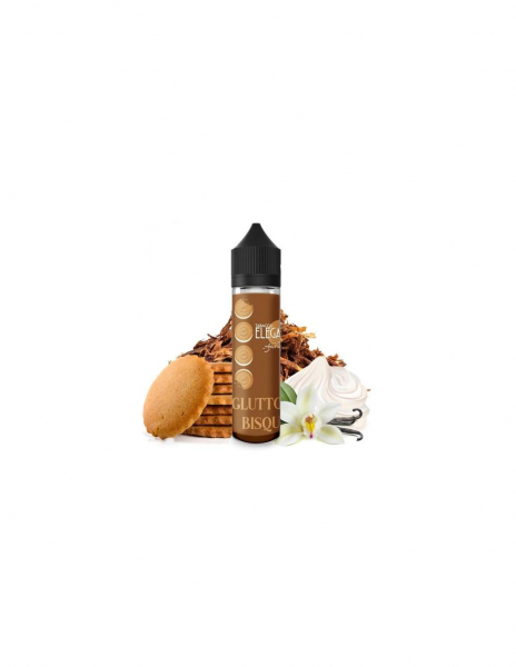 Gluttony Bisquit Liquido Azhad's Elixirs 20ml Aroma Tabacco Biscotto Vaniglia