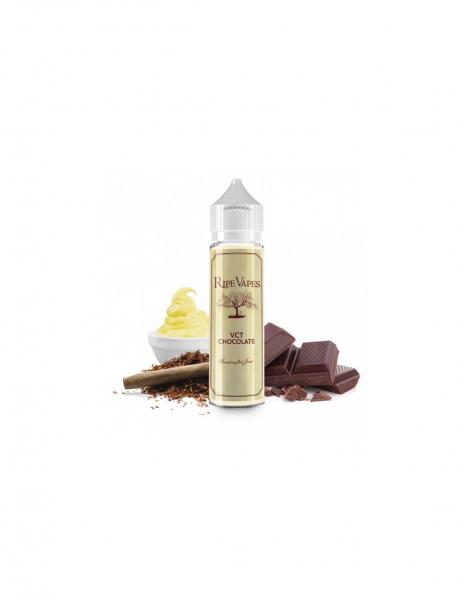 VCT Chocolate Liquido Mix Series Ripe Vapes da 50ml Aroma Tabacco Crema e Cioccolato