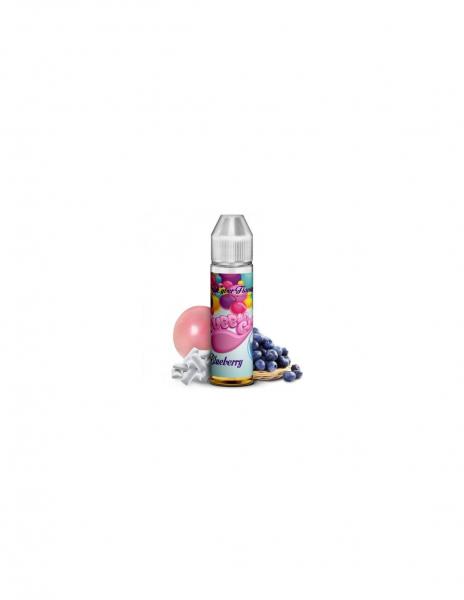 Bubble Gum Blueberry Liquido Cyber Flavour 20ml Aroma Chewing Gum al Mirtillo