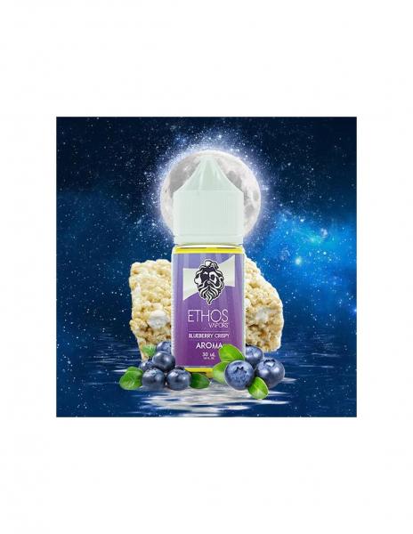 Crispy Treats Blueberry Liquido di Ethos Vapors da 30 ml Aroma Riso Soffiato e Mirtilli