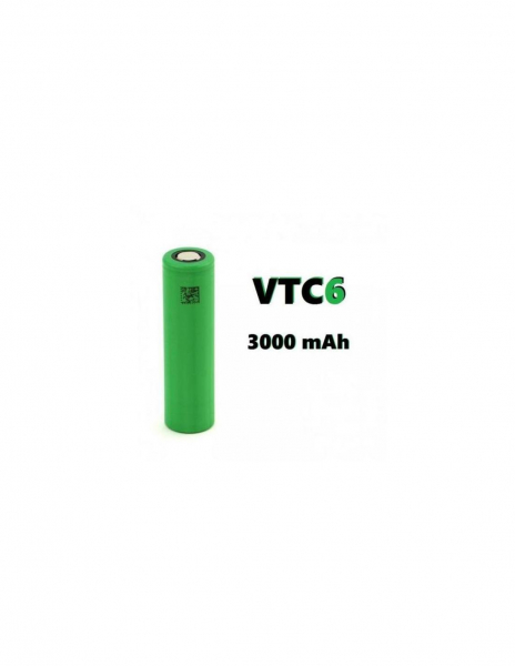 Sony VTC6 18650 3000 mAh 30A Uso Industriale
