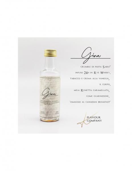 Gina Liquido K Flavour Company Aroma 25 ml Tabacco Cremoso