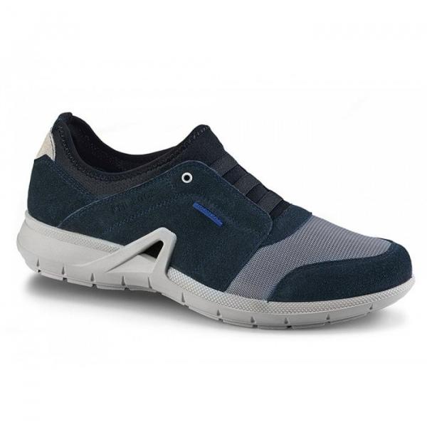 Scarpa a Pantofola Memory Blu