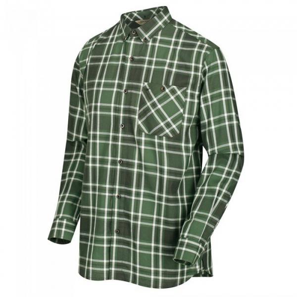 Camicia Quadro Verde Lazare
