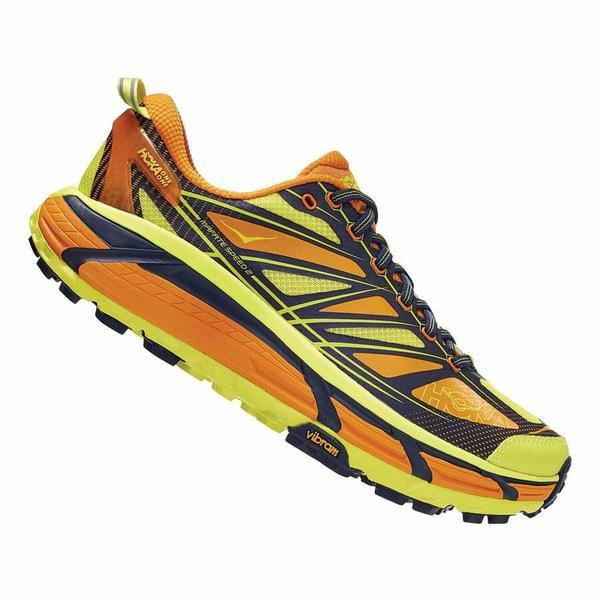 Hoka Mafate Speed 2 Gold / Evening – Scarpa Trail Running