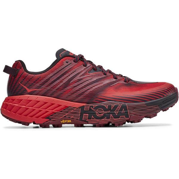 Hoka SpeedGoat 4 Cordovan / High Risk  – Scarpa Trail Running