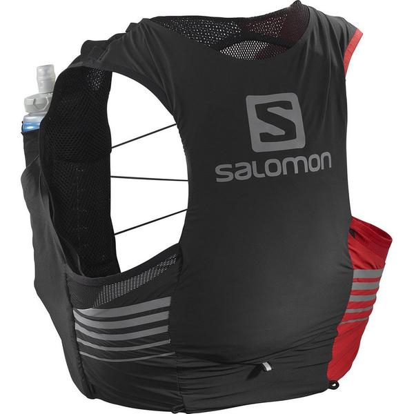 Salomon Sense Pro 5 Set LTD Edition Black/Gojy Berry – Zaino Trail Running