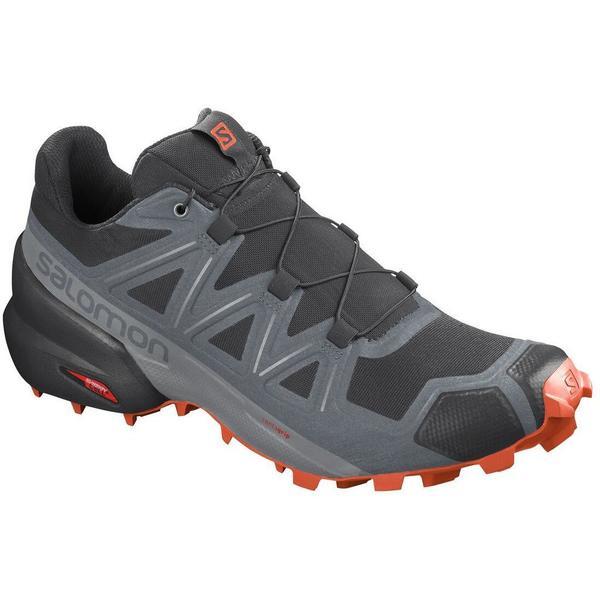Salomon Speedcross 5 Black / Stormy Weather – Scarpa Trail Running