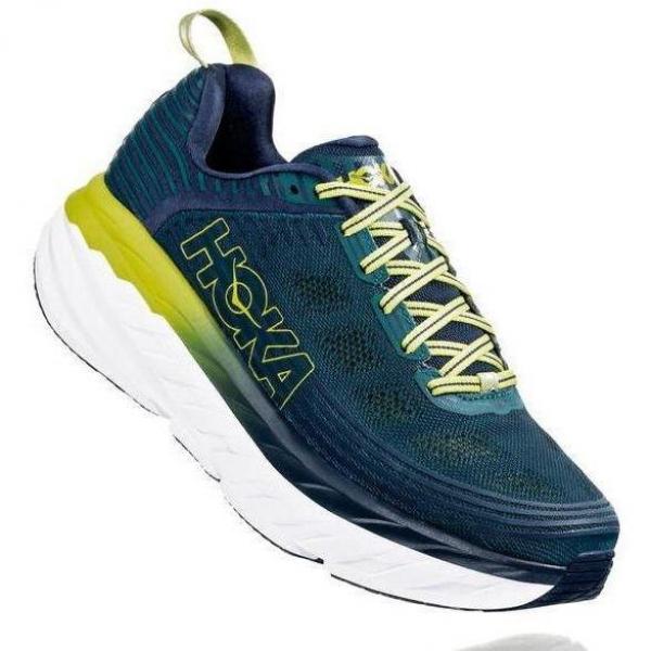 Hoka Bondi 6 Deep Teal/Green – Scarpa Running