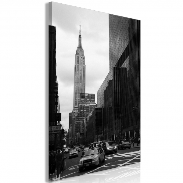 Quadro – Street in New York (1 Part) Vertical