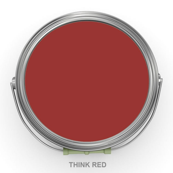 Vernice Vintage Autentico THINK RED (PENSARE ROSSO)