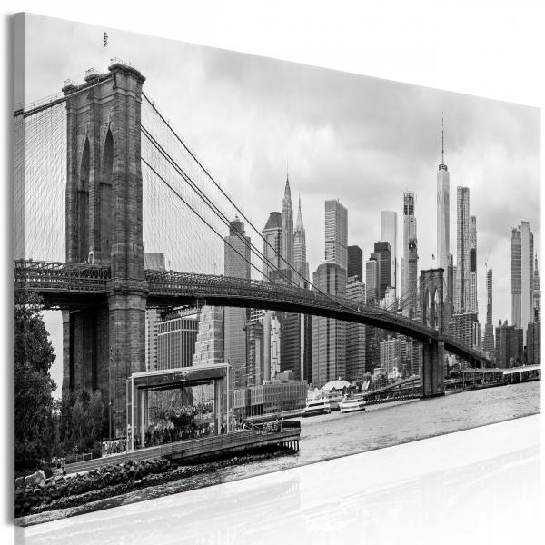 Quadro – Road to Manhattan (1 Part) Narrow Black and White