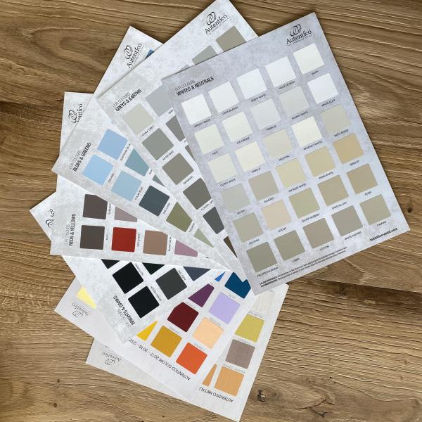 Cartella Autentico Paint DAL VERO 195 colori Fogli singoli