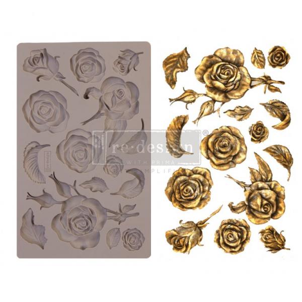 "Stampo per Fregi ""Fragrant Roses"" – fregio roselline by ReDesign with Prima"