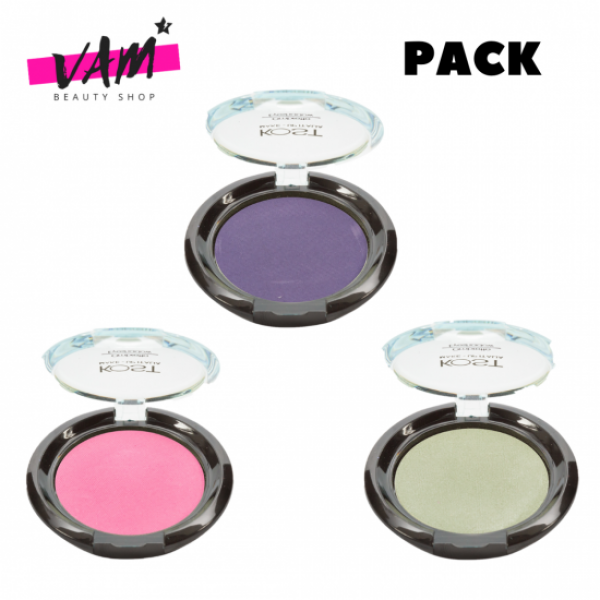 3 Eyeshadow Compact KOST Pack