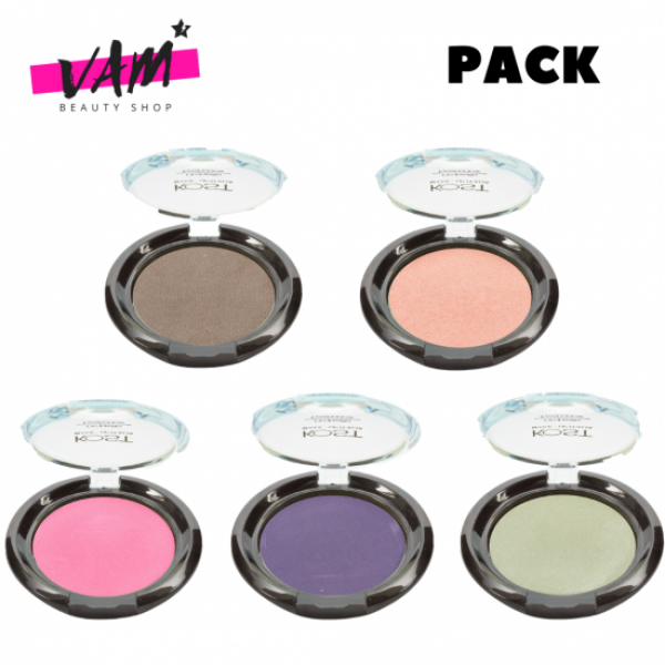 5 Eyeshadow Compact KOST Pack