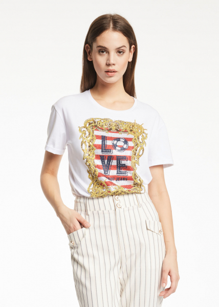 GAUDì JEANS T-shirt con stampa