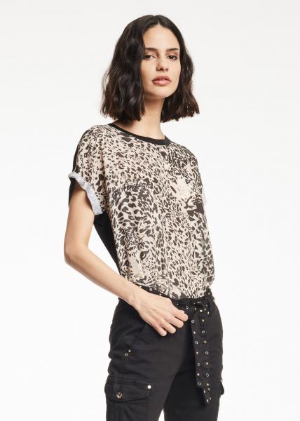 GAUDì JEANS T-shirt lunga animalier