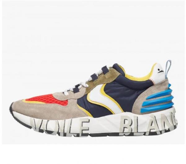 VOILE BLANCHE Sneaker Uomo CLUB 12