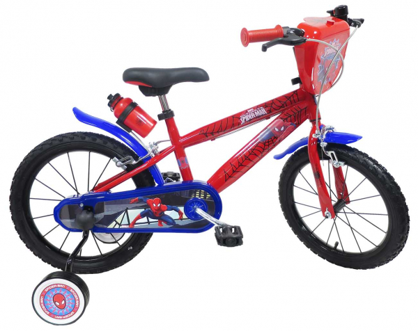 Bicicletta 16″ SPIDERMAN – 5/7 ANNI