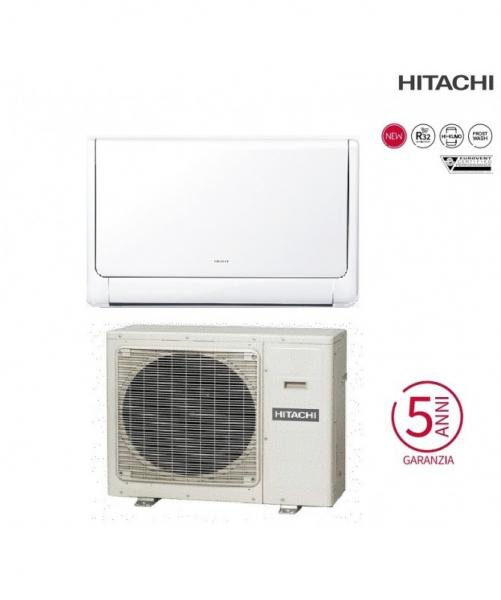 Condizionatore Climatizzatore Hitachi Monosplit Inverter Akebono a Pavimento R32 9000 BTU RAF-25RXE Wi-Fi Optional