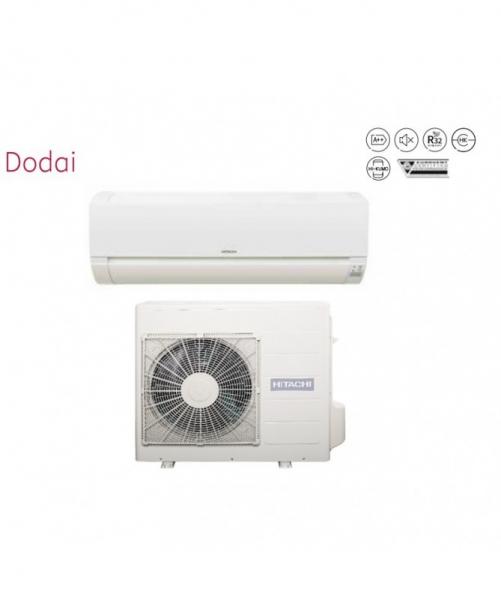 Condizionatore Climatizzatore Hitachi Monosplit Inverter Serie Dodai Frost Wash R-32 12000 BTU RAK-35REF Wi-Fi Optional
