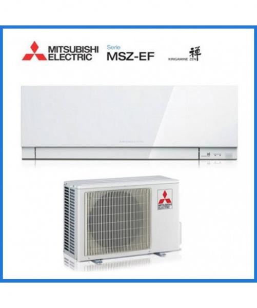 Condizionatore Climatizzatore Mitsubishi Electric R410 Inverter Kirigamine Zen White 9000 BTU MSZ-EF25VE2/3W A+++ <strong>PROMO</strong>