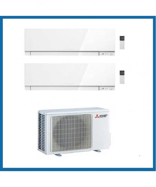 Condizionatore Climatizzatore Mitsubishi Electric Dual Split Inverter Kirigamine Zen R-410 7000+7000 Con MXZ-2F42VF <strong>PROMO</strong>