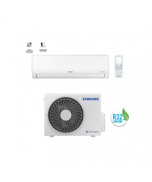 Condizionatore Climatizzatore Samsung Monosplit Inverter AR35 R-32 9000 BTU F-AR09ART (Maldives 2020)