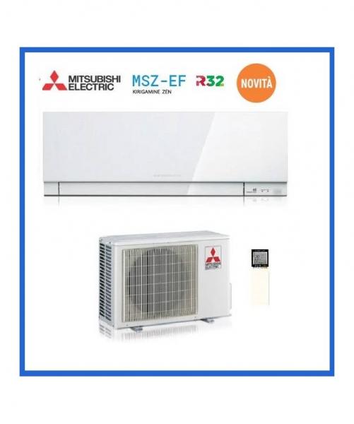 Condizionatore Climatizzatore Mitsubishi Electric Kirigamine Zen White R-32 15000 BTU MSZ-EF42VGW Wi-Fi Optional <strong>PROMO</strong>