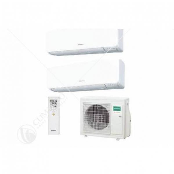 Condizionatore Climatizzatore General Fujitsu Dual Split Serie KMTB R-32 12000+12000 Con AOHG18KBTA2